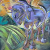 Horse - pastel on paper. SOLD