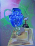 Still life - work in progress. Pastel