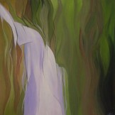 waterfall source - acrylic on board - FOR SALE