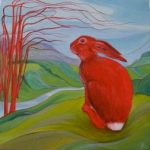 Rebekah's Storm (or Red Hare) Copyright Josie Tipler 2013