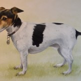 Lennie 1 - watercolour commission - SOLD