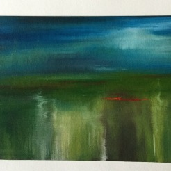 Oil waterscape - SOLD