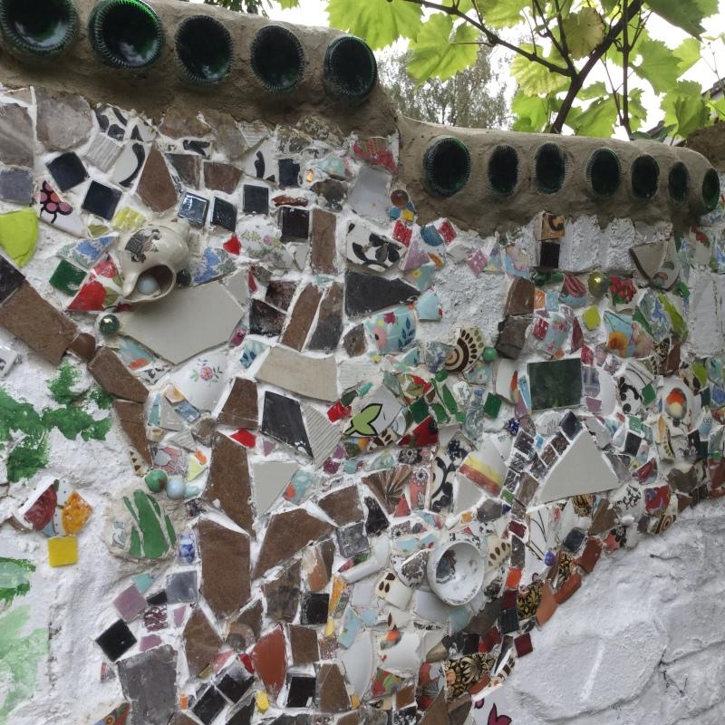 Pickhams mosaic wall