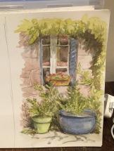 Painting in Beynat