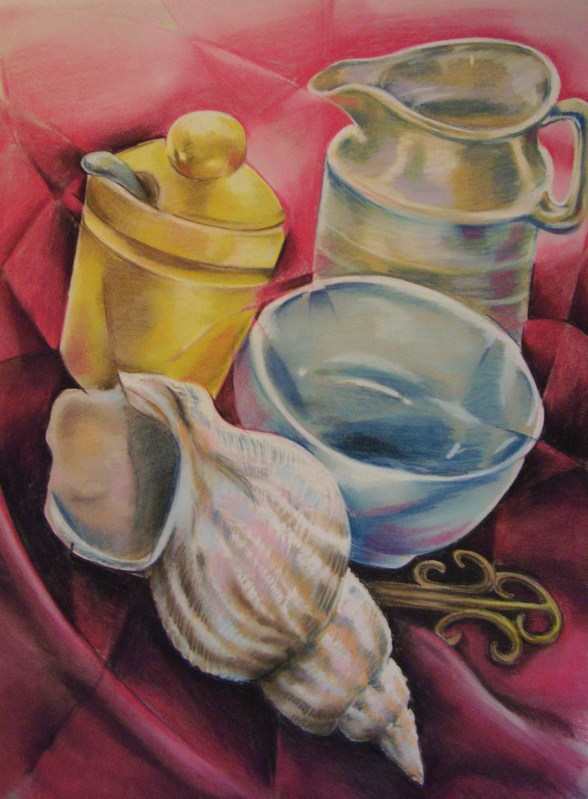 Pastel Still life - FOR SALE