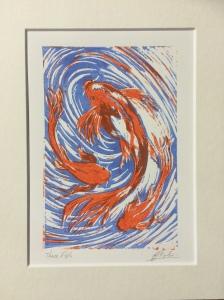 Three Fish - Josie Tipler.